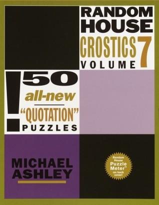 Random House Crostics Volume 7