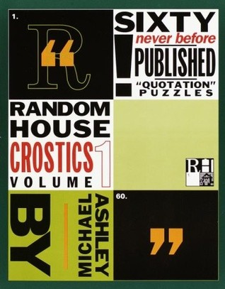 Random House Crostics, Volume 1