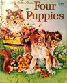 Four Puppies by Anne Heathers