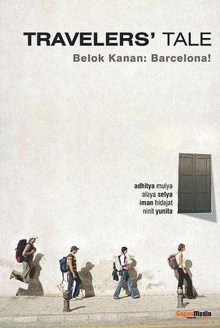 Novel Travellers' Tale Belok Kanan Barcelona (dok. Goodreads)