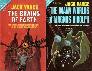 The Brains of Earth / The Many Worlds of Magnus Ridolph by Jack Vance