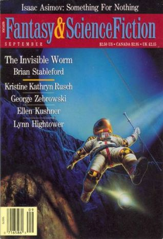 The Magazine of Fantasy and Science Fiction, September 1991 (The Magazine of Fantasy & Science Fiction, #484)