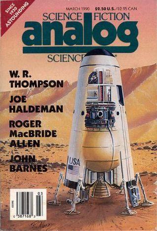 Analog Science Fiction and Fact, March 1990