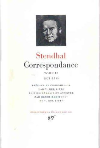 Correspondance, tome II (1821-1834)