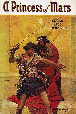 A Princess of Mars by Edgar Rice Burroughs
