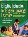 Effective Instruction for English Language Learners: Supporting Text-Based Comprehension and Communication Skills