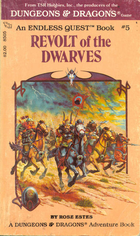 Revolt Of The Dwarves (Endless Quest #5)