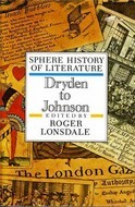 Sphere History of Literature, Volume 4: Dryden To ...
