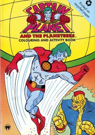 Captain Planet Colouring/Activity