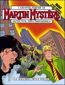 Martin Mystère n. 107 bis: La macchina della follia