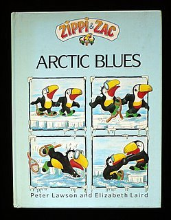 Zippi & Zac- Arctic Blues by Elizabeth Laird, Peter Lawson