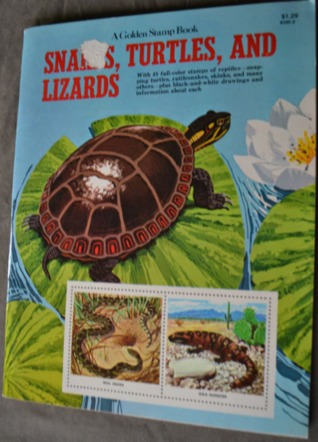 The Golden Stamp Book of Snakes, Turtles, and Lizards