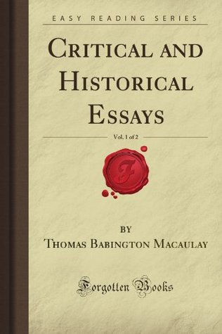 critical-and-historical-essays-vol-1-of-2