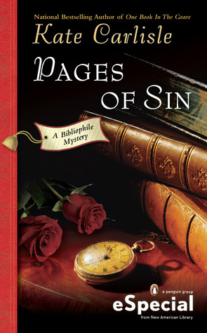 Pages of Sin (A Bibliophile Mystery, #4.5)