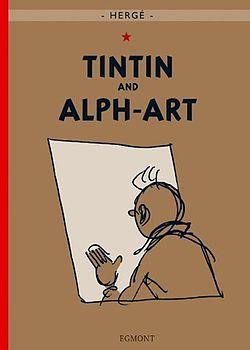 Tintin and Alph-Art by Hergé