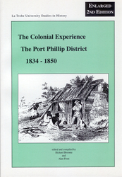 The Colonial Experience by Richard Broome