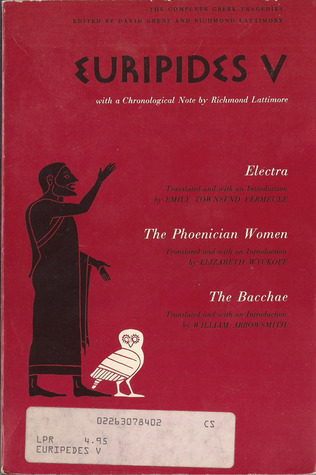 Ebook Euripides V: Electra/The Phoenician Women/The Bacchae by Euripides TXT!