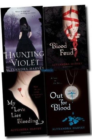 Alyxandra Harvey Collection (Drake Chronicles, #1-3; Haunting Violet, #1)