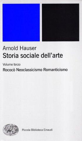 Storia sociale dell'arte #3