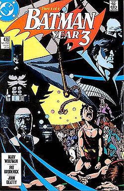 Batman: Year Three (1 of 4) #436