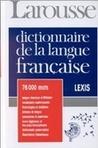 Dictionnaire de la Langue Française : Lexis