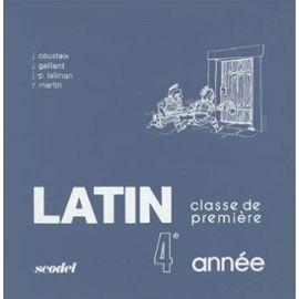 Latin 4e année - 1ère