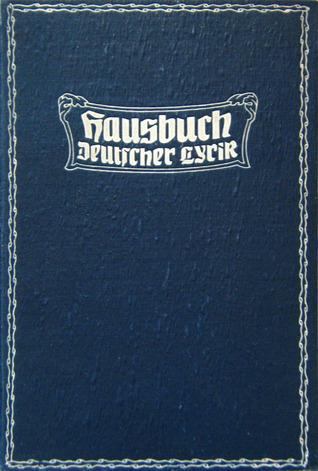 Hausbuch Deutscher Lyrik by Avenarius