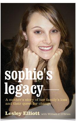 Sophie's Legacy by Lesley Elliott
