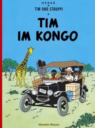 Tim im Kongo by Hergé