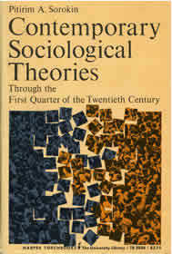 Contemporary Sociological Theories by Pitirim A. Sorokin