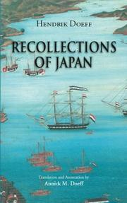 Recollections of Japan