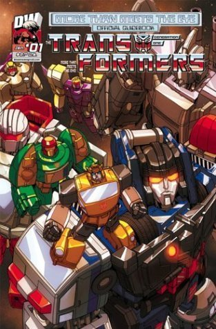 Transformers Generation One: More Than Meets The Eye Official Guidebook Volume 1
