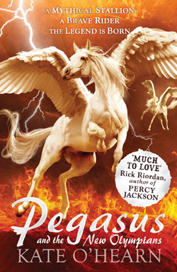 Pegasus and the New Olympians by Kate O'Hearn