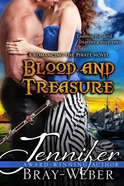 Blood and Treasure by Jennifer Bray-Weber