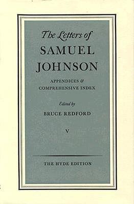 The Letters Of Samuel Johnson
