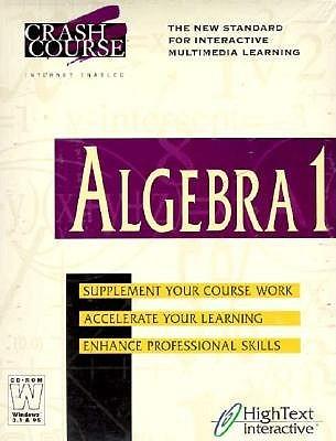 A Crashcourse in Introductory Algebra