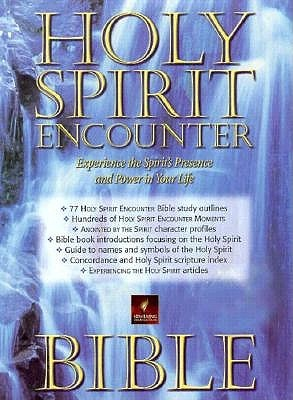 Holy Spirit Encounter Bible: Experience the Spirit's Presence and Power in Your Life : New Living Translation