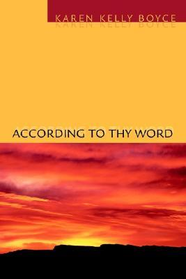 According to Thy Word