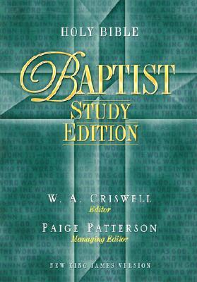 Holy Bible - Baptist Study Edition