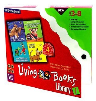 Living Books Library #1: Contains Complete Programs For Little Monster At School, Ruff's Bone, Stellaluna, And The Tortoise And The Hare