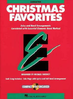 Essential Elements Christmas Favorites   Conductor Book With Cd
