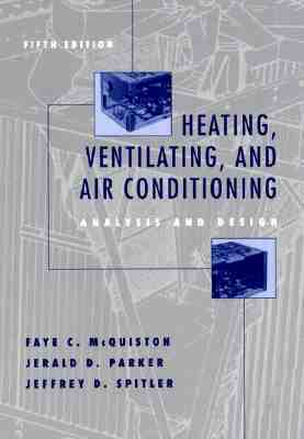 Heating, Ventilating, and Air Conditioning: Analysis and Design [With CDROM]