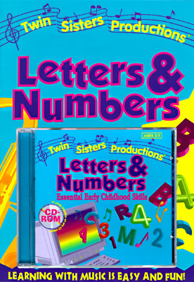 Letters and Numbers, W/Book and CD-ROM