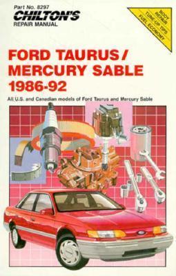 Chilton's Repair Manual: Ford Taurus Mercury Sable 1986-92