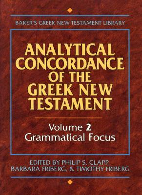 Analytical Concordance of the Greek New Testament