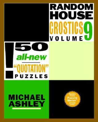 Random House Crostics, Volume 9