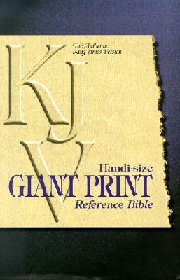 Handi-Size Giant Print Reference Bible-KJV