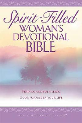 Spirit-Filled Woman's Devotional Bible: Finding And Fulfilling God's Purpose In Your Life-New King James Version