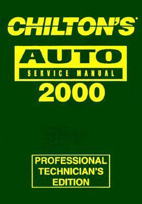 Chilton's Auto Repair Manual 1996-2000: Shop Edition