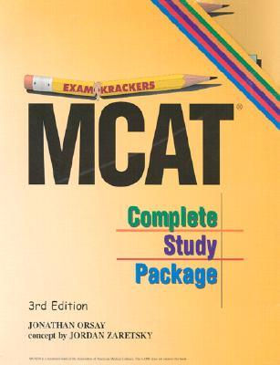 Exam Krackers: Complete Mcat Study Package (5 Vol. Set) (Examkrackers)